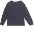 Kerry Cardigan Merino wool - Periscope Blue
