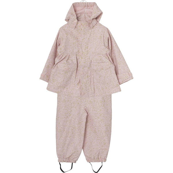 Charlene Rubi Fleece Rainwear Set - Lotus Rose