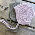 Filie hood in merino wool - Pale Mauve