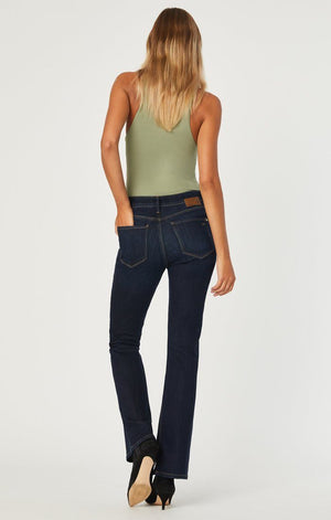 Mavi Jeans Marcia Deep Blue Supersoft Flare Denim Jeans