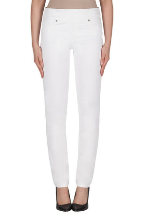 Joseph Ribkoff Denim White Pants
