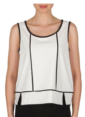 Joseph Ribkoff V Neck Tank Top