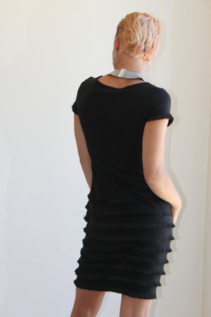 Joseph Ribkoff Black Short Sleeve Dress
