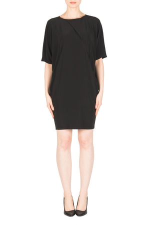 Joseph Ribkoff  Assymetric Short Sleeve Dress