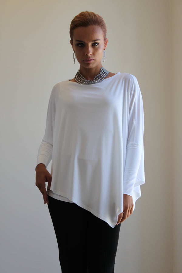 Joseph Ribkoff Scoop Neck 3/4 Sleeve Top