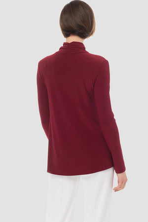 Joseph Ribkoff Long Sleeve Open Neck Top