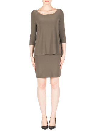 Joseph Ribkoff 3/4 Sleeve Short Dress