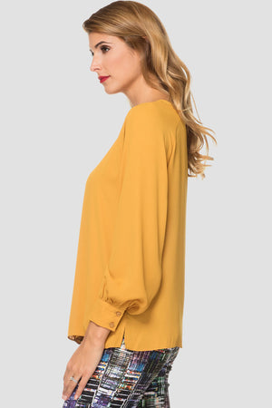 Joseph Ribkoff Long Sleeve Round Neck Top