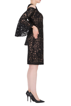 Joseph Ribkoff Long Sleeves Flattering 3/4 Length Dress