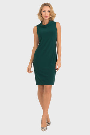 Joseph Ribkoff Round Neck 3/4 Sleeves Dress