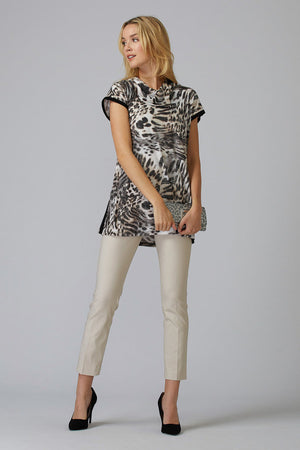 Joseph Ribkoff Stones Short Sleeves Tunic