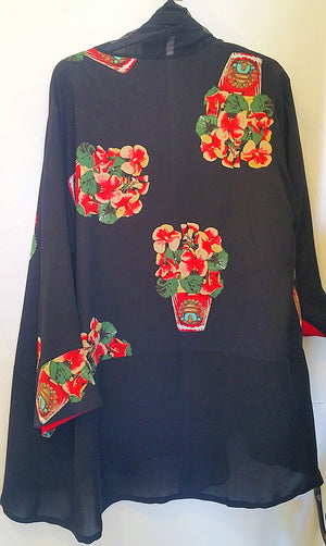 Harari Flower Print Cover Up