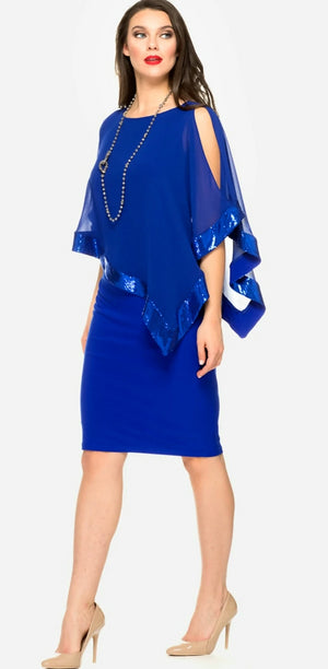 Joseph Ribkoff Shawl Tunic Dress