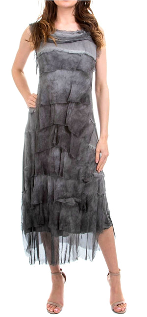 GIGI MODA One Size Fits All Dress 100% Silk