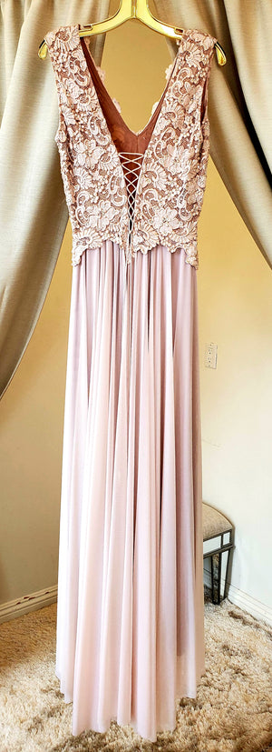 Baccio Ariel Painted Long Dress