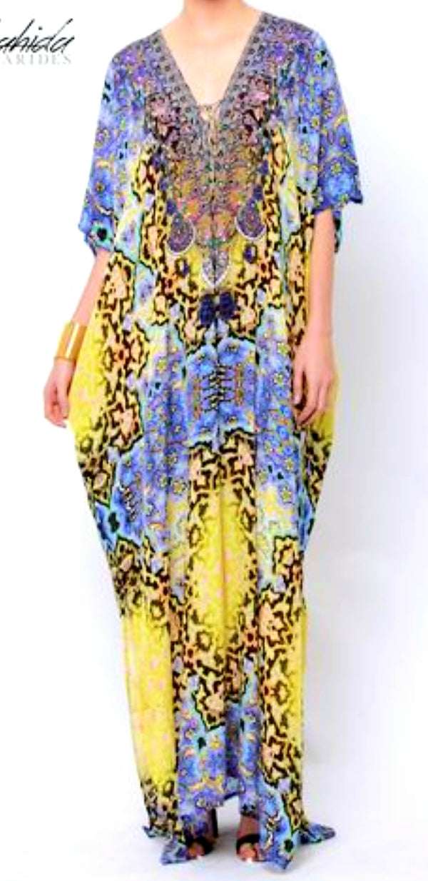 Shahida Parides Long Open Shoulder Cover Up