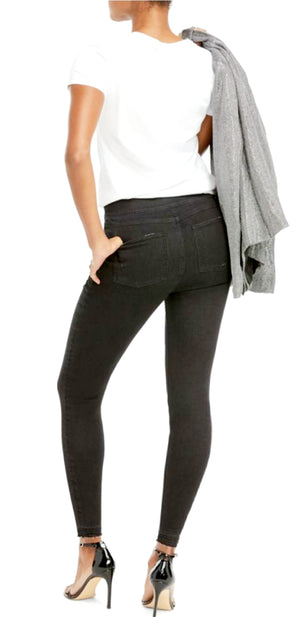 Spanx Distressed Skinny Jeans