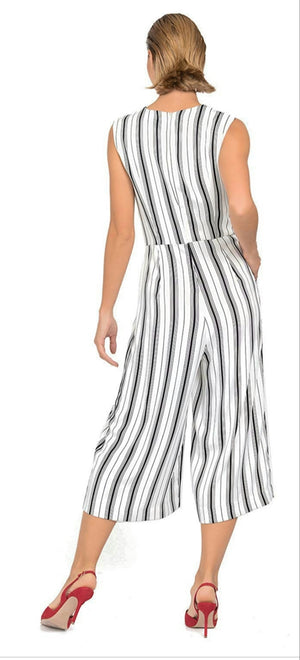 Joseph Ribkoff Stripes Jumpsuit