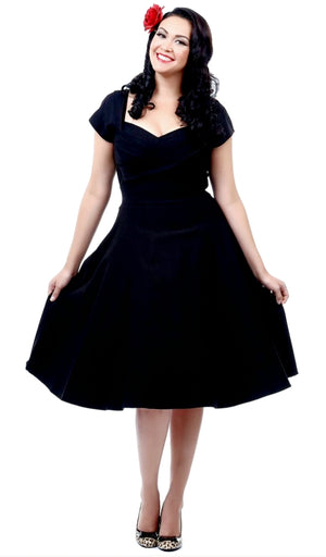 Stop Staring Madstyle Swing Short Sleeves Dress