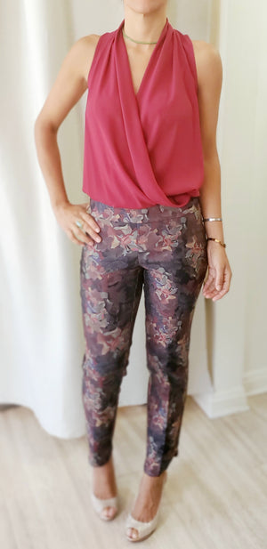 Up! Flower Leaves Petal Pants