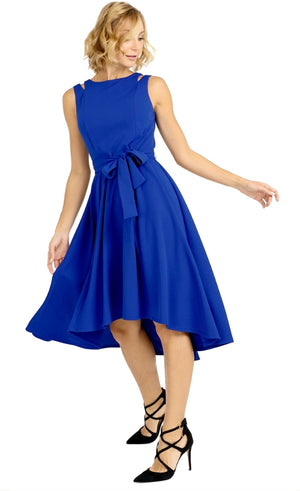 Joseph Ribkoff Sleeveless Belt Dress