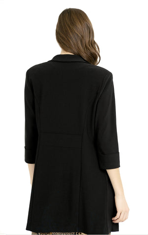 Joseph Ribkoff 3/4 Sleeves Open With Pockets Jacket