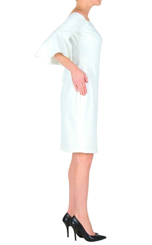 Joseph Ribkoff Off Shoulder Flattering Dress