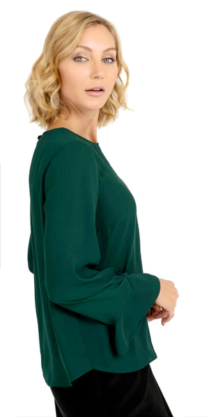 Joseph Ribkoff Long Sleeves Round Neck Top