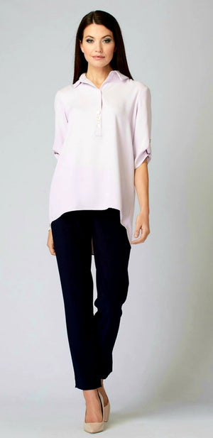 Joseph Ribkoff V Neck 3/4 Sleeves Blouse