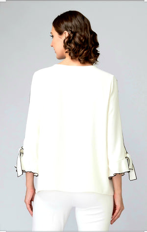 Joseph Ribkoff Long Sleeves Blouse