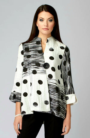 Joseph Ribkoff Long Sleeves Contemporary Jacket