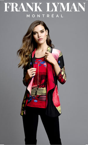 Frank Lyman Multicolor Knit Jacket
