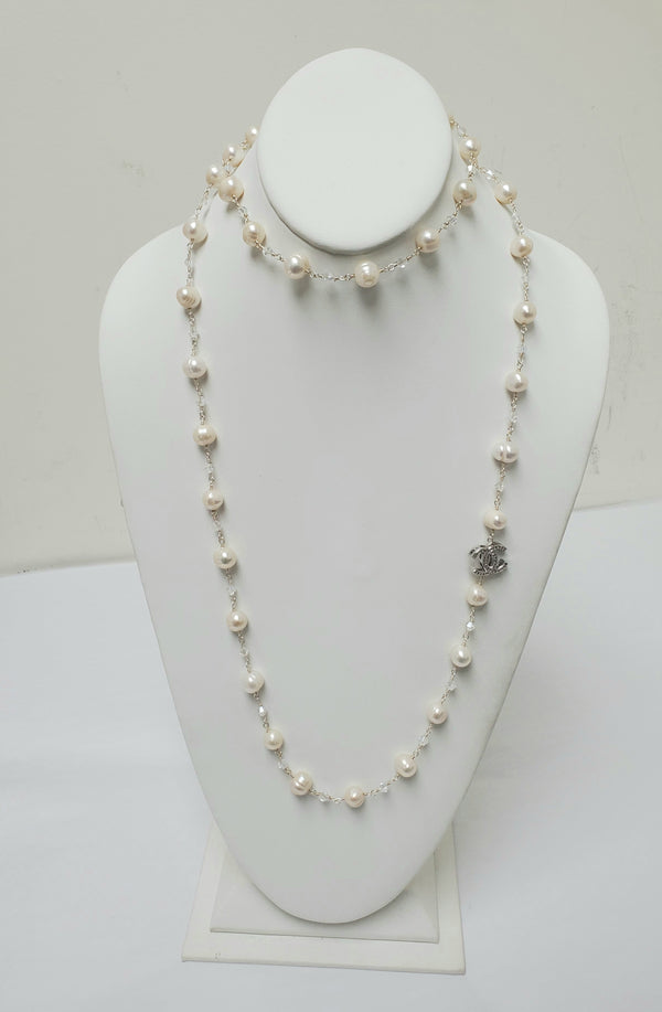 Ramina Pearl Channel Necklace
