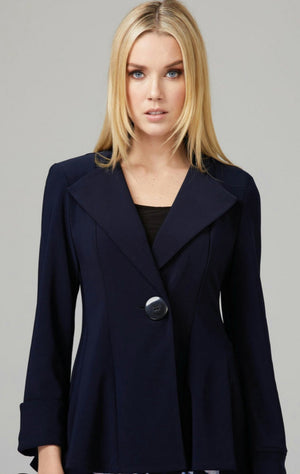 Joseph Ribkoff Long Sleeves One Button Jacket