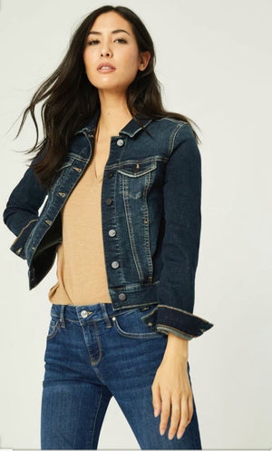 Mavi Jeans Samantha Deep Tribeca Denim Jacket