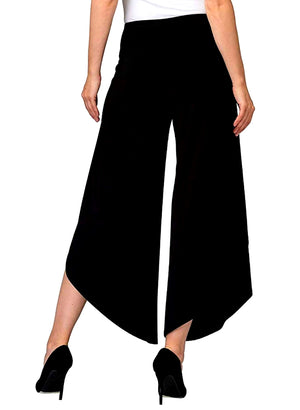 Joseph Ribkoff Palazzo Assymetric Bottom Pants