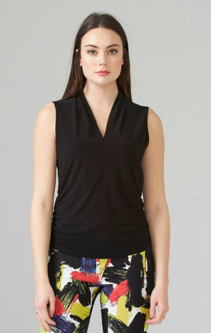 Joseph Ribkoff V Neck Sleeveless Top