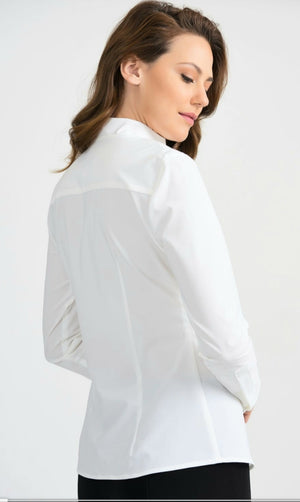 Joseph Ribkoff V Neck Long Sleeves Blouse
