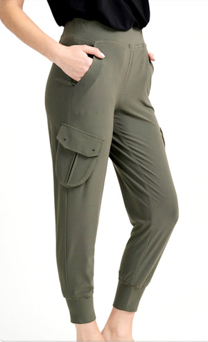 Joseph Ribkoff Cargo Side Pockets Pants