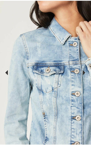 Mavi Jeans Long Sleeves Light Blue Denim Jacket
