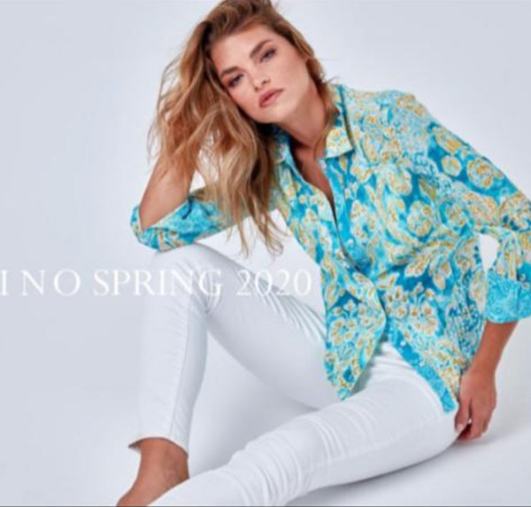 Menolascino Long Sleeves Wrinkle Blouse