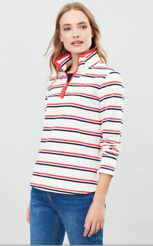Joules Front Zipper Long Sleeves Sweater