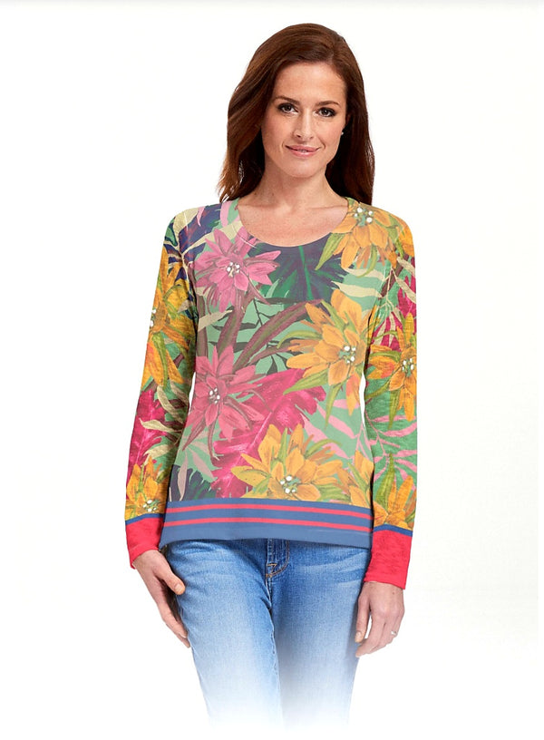 Whimsy Rose Butterknit Long Sleeve Crew Top