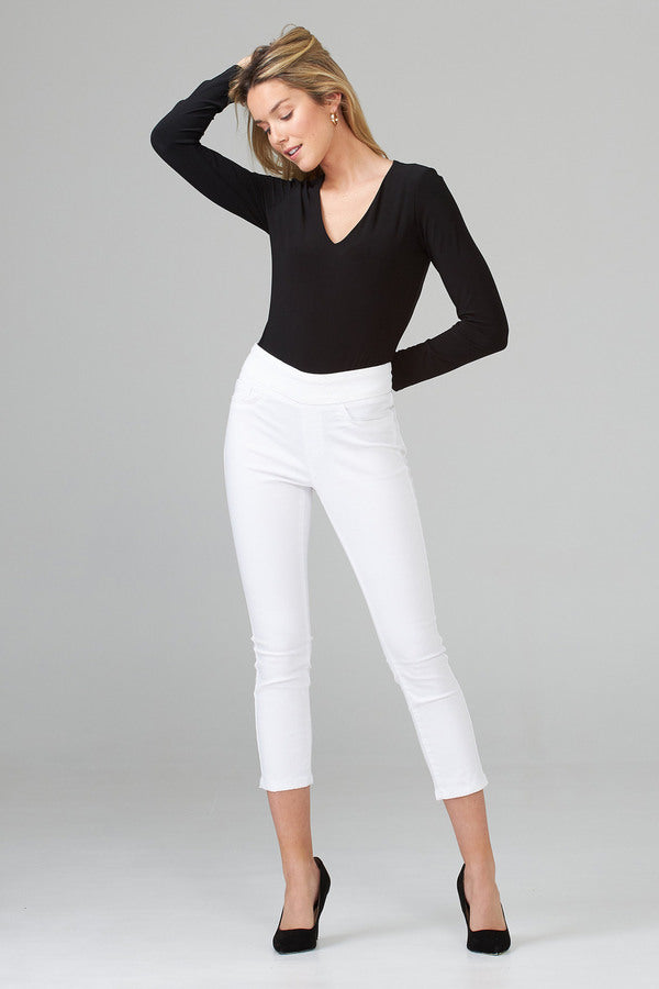 Joseph Ribkoff V Neck Long Sleeves Bodysuit