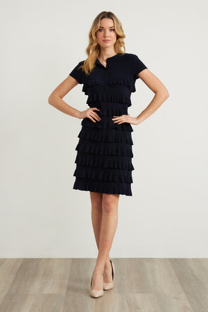 Joseph Ribkoff Ruffled Dress