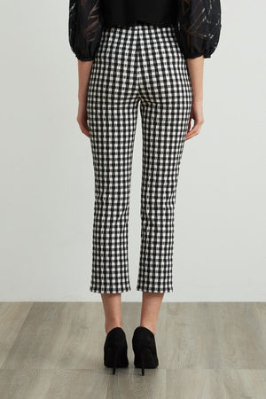 Joseph Ribkoff Chess Fitted Pants