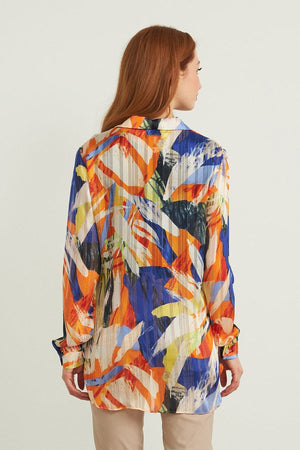 Joseph Ribkoff Long Sleeve Front Buttons Blouse