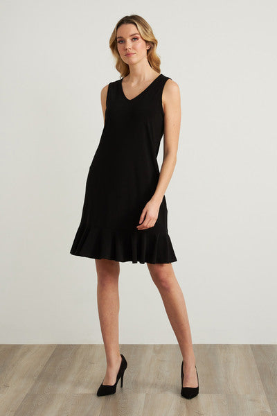 Joseph Ribkoff Ruffle Trim Dress