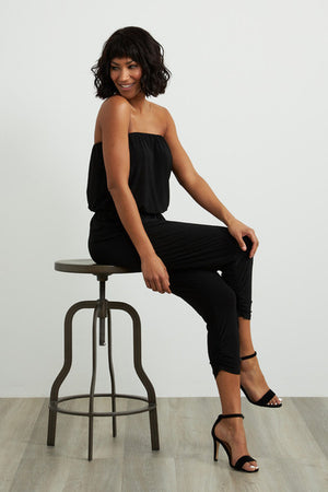 Joseph Ribkoff Sleeveless Front Pockets Jumpsuit