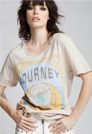 Recycled Karma Short Sleeves Journey Generations Old Lace Tee